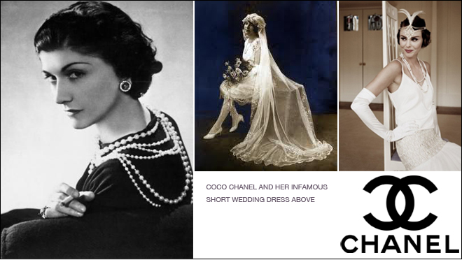 Chanel Wedding Dresses of 1920